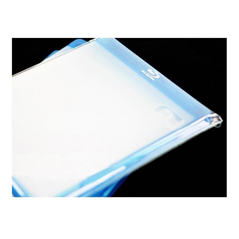 100 Pochettes pour boîtier Blu-ray 14 mm avec rabat