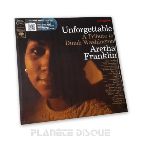 Aretha Franklin: Unforgettable Speakers Corner LP Columbia CS 8963