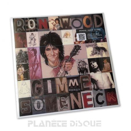 Ron Wood: Gimme Some Neck Speakers Corner LP Columbia JC 35702