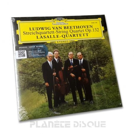 Beethoven: String Quartet, Op. 132 LasalleSpeakers Corner LP DGG 2530 728
