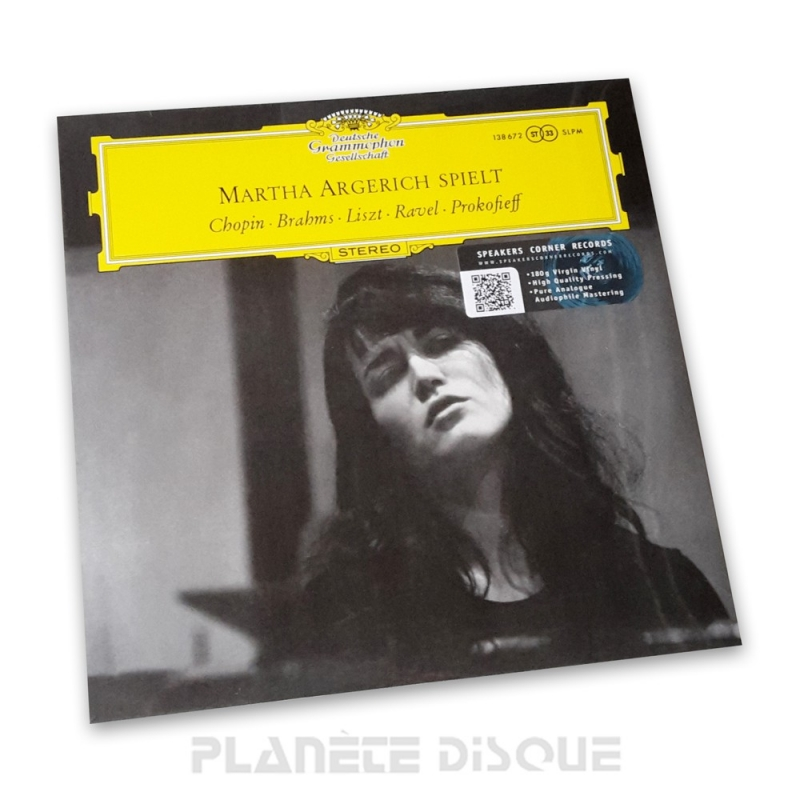Martha Argerich Debut Recital Speakers Corner LP DGG SLPM 138672