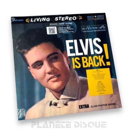 Elvis Presley: Elvis Is Back Speakers Corner LP RCA LSP-2231