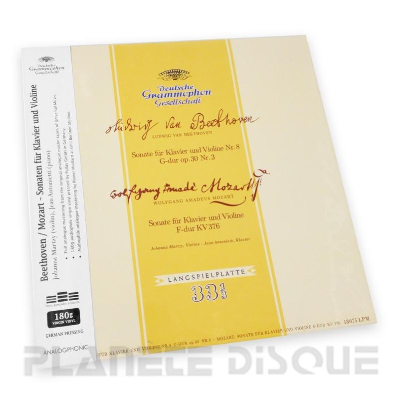 Johanna Martzy Beethoven & Mozart Sonatas for Piano & Violin Analogphonic LP43059