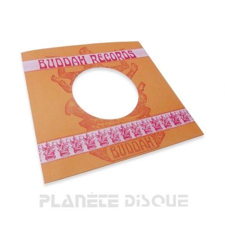 Hoes papier voor 45 toeren single (imitatie Buddah Records)