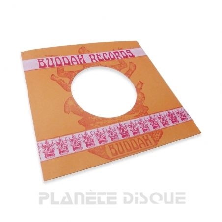 Pochette papier imitation 45T Buddah Records