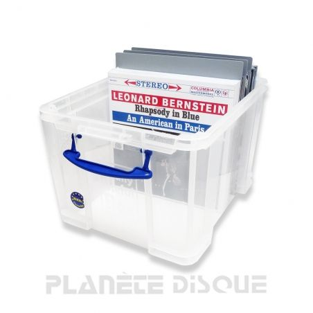Really Useful Box 100 disques vinyles 33T XXL pour intercalaires