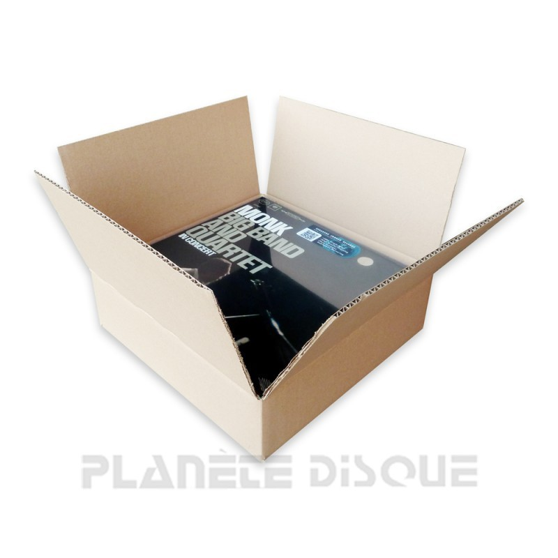Pack 3 cartons expédition 40 33T vinyle sans impression