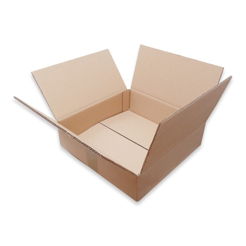 1 carton double cannelure kraft expédition 1-20 33T vinyle