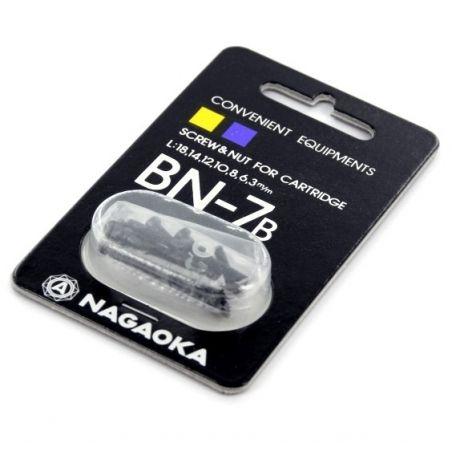 Nagaoka BN-7 vis noires pour montage cellule