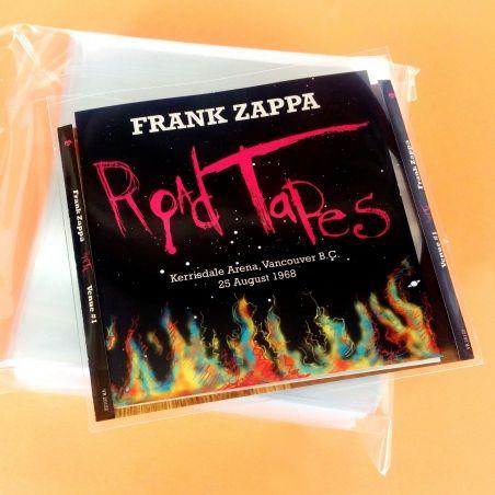 100 Pochettes CD, livret PE & fiche arrière Deluxe