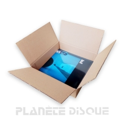 1 carton simple cannelure 1-20 33T vinyle