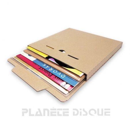 25 Cartons expédition 1-5 78T vinyle