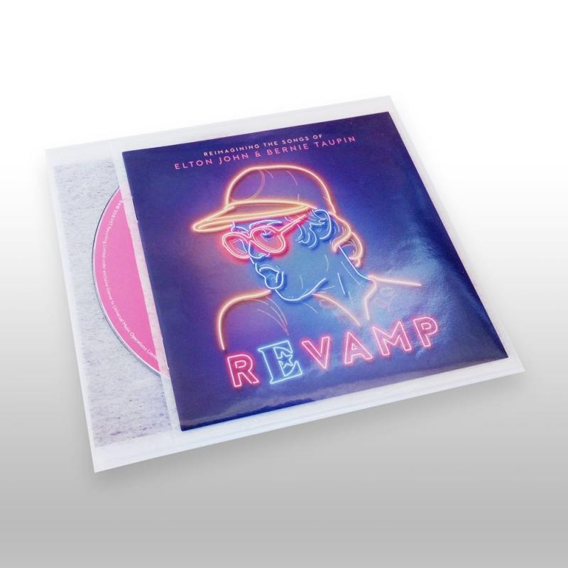 Fleecepack Classic 100 PP hoesjes voor compacte CD opslag