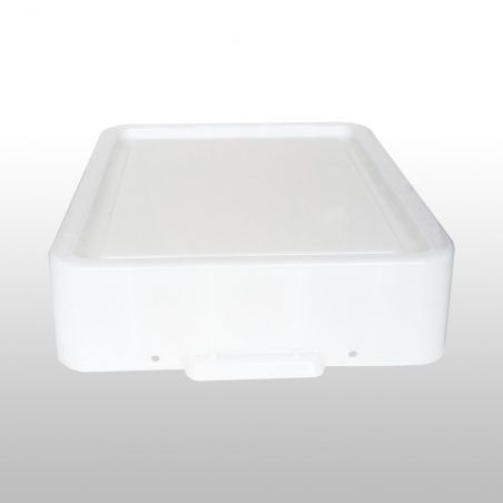 Reservedeksel XXL voor de Really Useful Box 100 LPs White Strong
