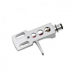 Headshell voor draaitafel met S-arm zilver