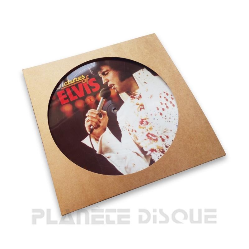 25 Platenhoezen kraft karton voor Picture LP