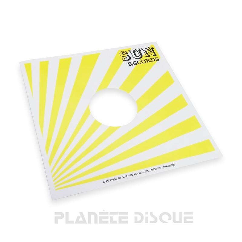 Hoes papier voor 78 toeren plaat (imitatie Sun Records)