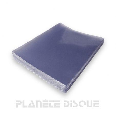 Pochette PVC pour DVD, livret et jaquette sans boitier