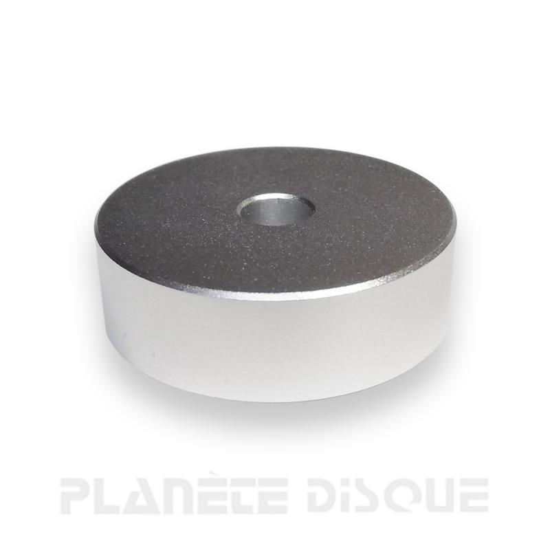 Centreur / adaptateur en aluminium pour singles 45T