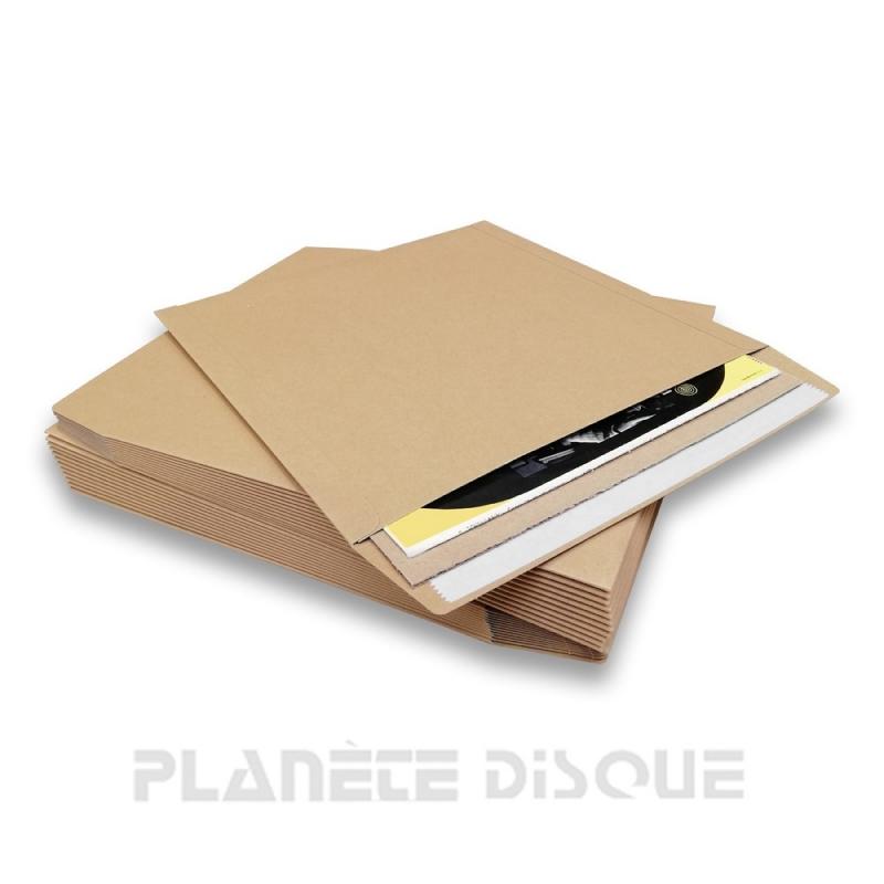 25 Enveloppes expédition 25cm/10 inch vinyle