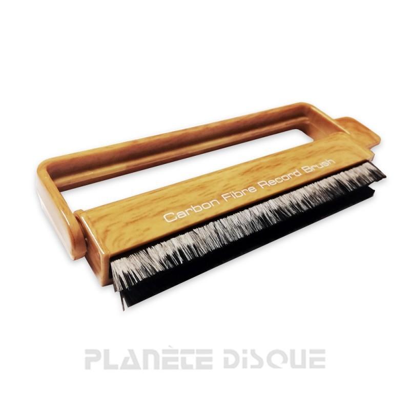 Brosse antistatique & nettoyant vinyle DOS imitation bois
