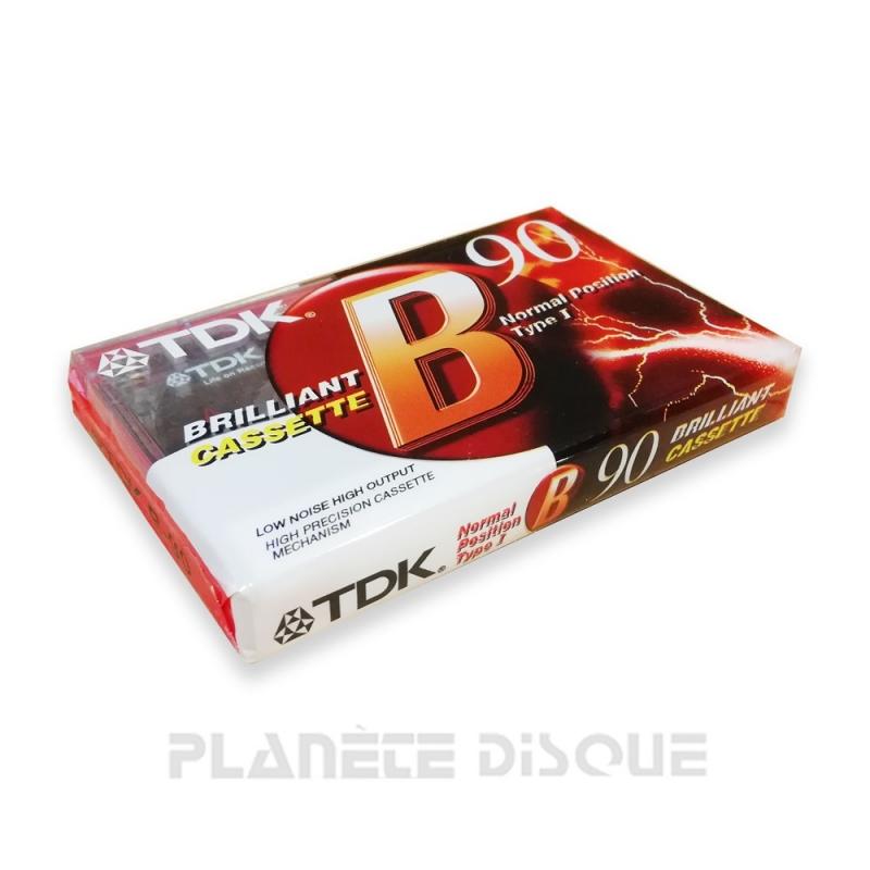 TDK Brilliant Audio Tape K7 90 minutes