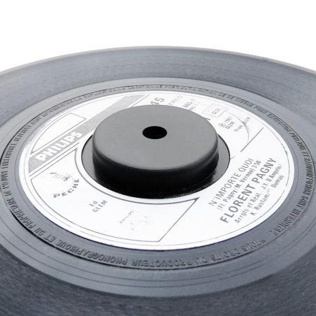 Centreur / adaptateur en plastique pour singles 45T