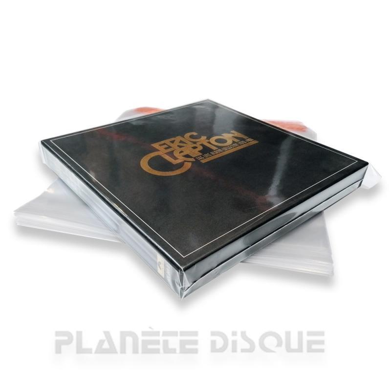 25 Pochettes protection vinyle 33T coffret refermables PP no. 3