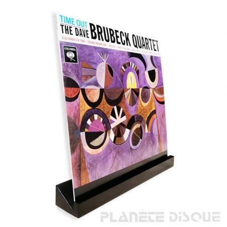 Support mural en bois pour un disque vinyle