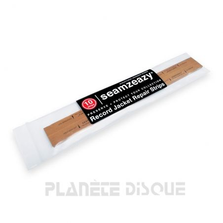 Seamzeazy bandelette adhésive réparation bordure pochette cartonnée