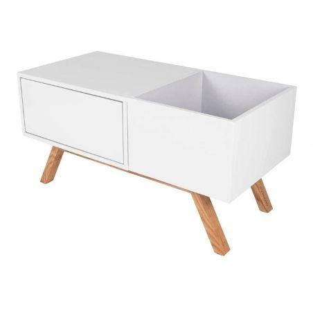 Glorious Turntable Lowboard meuble pour disques vinyles et platine