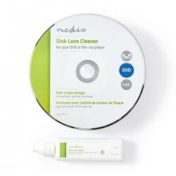 Disque de nettoyage avec liquide pour lecteur DVD et Blu-ray