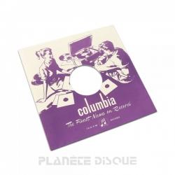 Pochette papier imitation 78T Columbia